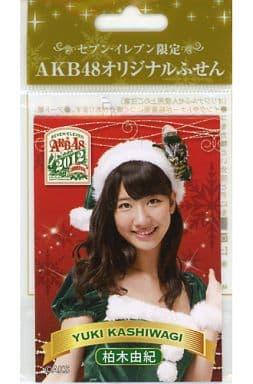柏木由紀 AKB48オリジナルふせん 2012年セブンイレブン限定 対象商品購入特典