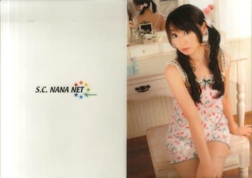 水樹奈々 A4ダブルポケットクリアファイルA(衣装白) 「S.C.NANA NETファンクラブイベントV」