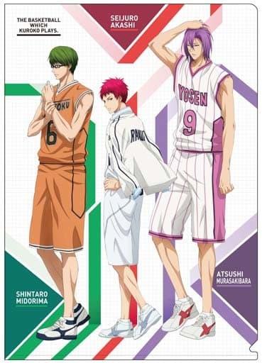 C.緑間&紫原&赤司 A4クリアファイル 「黒子のバスケ」