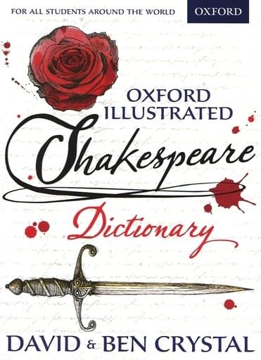 <<洋書>> Oxford Illustrated Shakespeare Dictionary / David Crystal