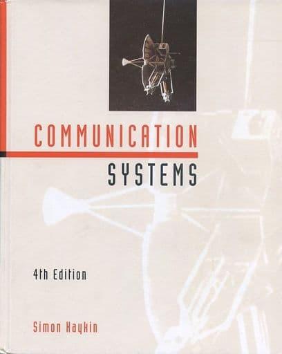 <<洋書>> Communication Systems: 4th Edition