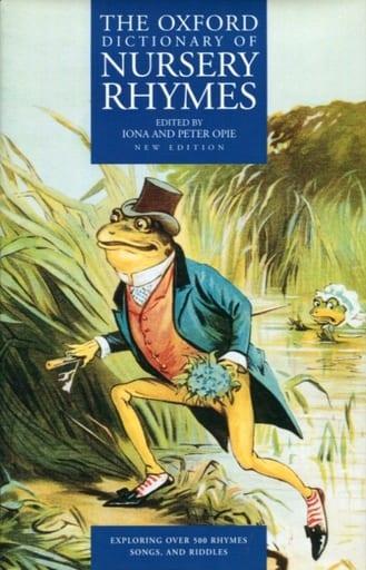 <<洋書>> The Oxford Dictionary of Nursery Rhymes
