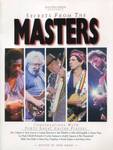 <<洋書>> Secrets from the Masters: Conversations With Forty Great Guitar Players