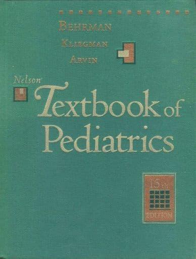 <<洋書>> Nelson Textbook of Pediatrics: 15th Edition