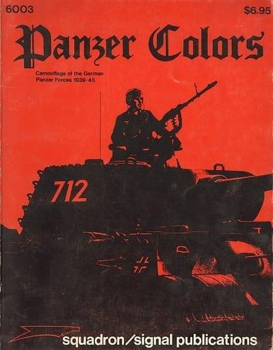 <<洋書>> Panzer Colors: Camouflage of the German Panzer Forces 1939・45