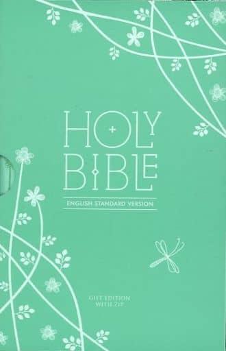 <<洋書>> ケース付)Holy Bible English Standard Version: Gift Edition with ZIP