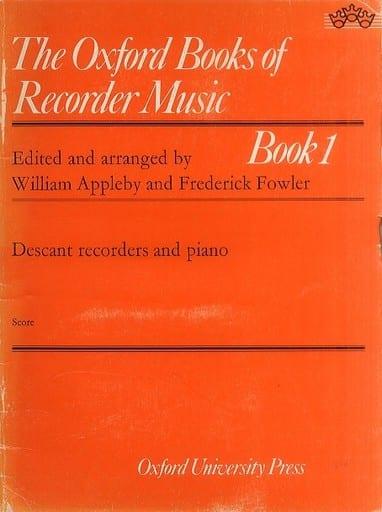 <<その他>> The Oxford Books of Recorder Music Book1