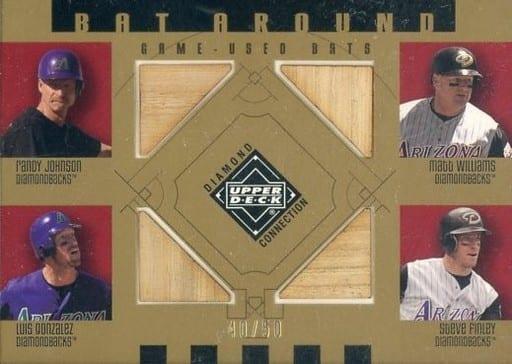 BA-JWGF [バットカード] : RANDY JOHNSON & LU(バット)
