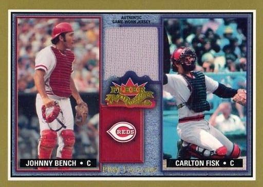 RF JB-CF [ジャージカード] : JONNY BENCH & CARLTON FISK(ジャージー)
