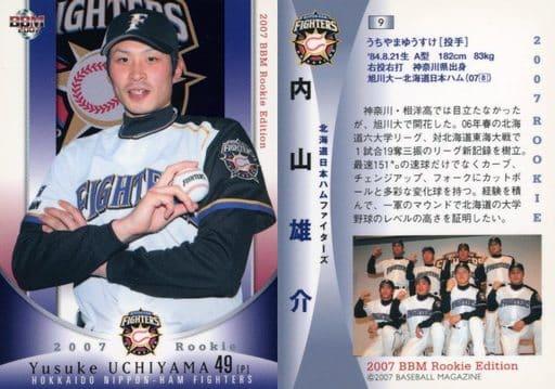 9 [レギュラーカード] : 内山雄介