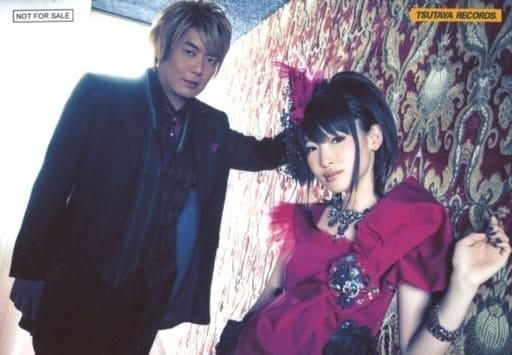 fripSide/南條愛乃・八木沼悟志/CD「black bullet」TSUTAYA 特典ブロマイド