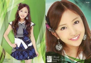 TI-001 : 板野友美/レギュラーカード/AKB48 オフィシャルトレーディングカード オリジナルソロバージョンver2