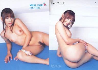 15 : 柚木ティナ/レギュラーカード/Milky Angel Card Collection vol.9