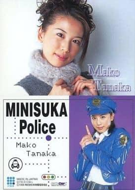 153 : 田中真子/レギュラーカード/出動 ! ミニスカポリス COLLECTION CARDS