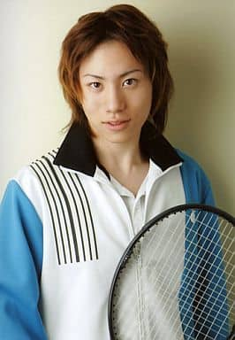 Takuya(芥川慈郎)/上半身/衣装ジャージ/カメラ目線/ミュージカルテニスの王子様 The Imperial Match 氷帝学園 in winter 2005-2006