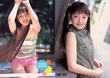 NR-02 : 岡本奈月/レギュラーカード/トレカ姫 岡本奈月