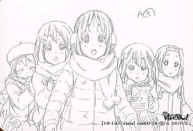 【10-14/C-class】 : cut60-28 3/4 琴吹 紬・平沢 唯・秋山 澪・中野 梓・田井中 律