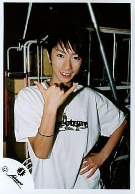 ジャニーズJr/河合郁人/シャツ白・左手腰・上半身/公式生写真