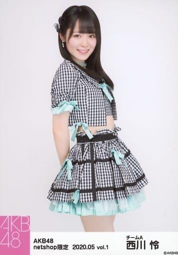 西川怜/膝上/AKB48 2020年5月度 net shop限定個別生写真 vol.1