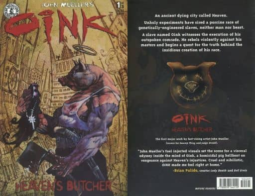 oink Heaven's Butcher(ペーパーバック)(1)