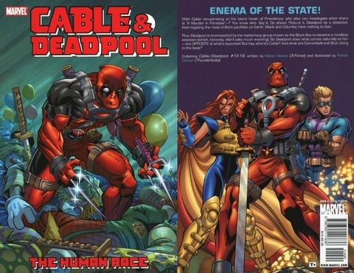 Cable & Deadpool: the Human Race(ペーパーバック)(3)