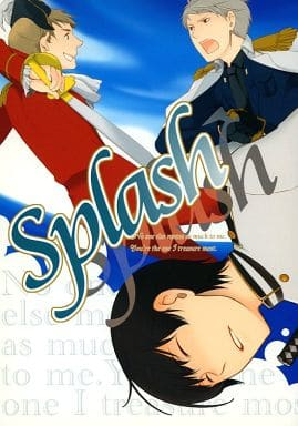 <<ヘタリア>> Splash (ギルベルト×本田菊←アーサー) / Fioritura