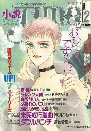小説JUNE 1995年2月号 No.71