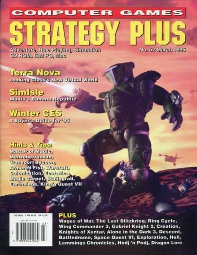 COMPUTER GAMES STRATEGY PLUS No.52 March 1995