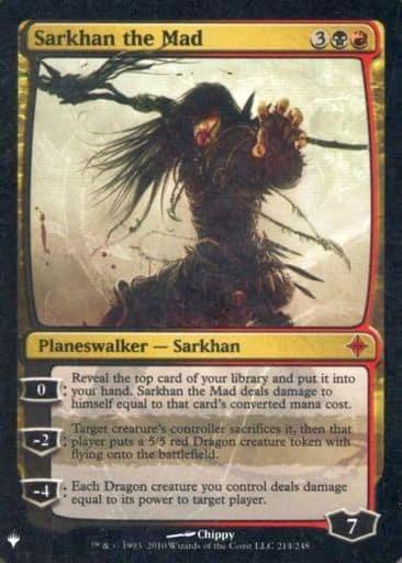 [神話R] : 【FOIL】Sarkhan the Mad/狂乱のサルカン