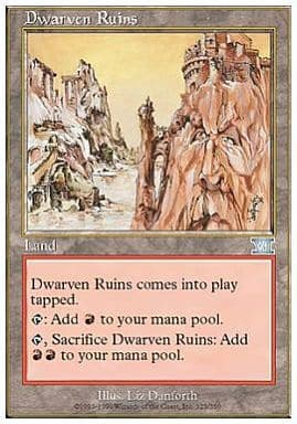 [UC] : 【6ED】Dwarven Ruins/ドワーフ都市の廃墟「UC」