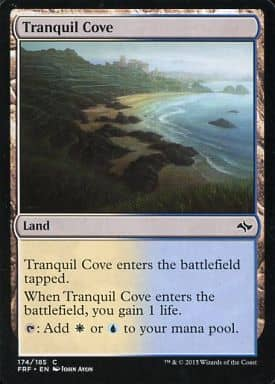 [C] : Tranquil Cove/平穏な入り江