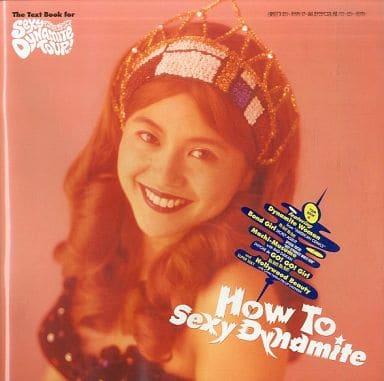 <<パンフレット(ライブ)>> パンフ)How To Sexy Dynamite 小泉今日子 91 セクシーダイナマイトツアーMMK作戦 ハウツー・セクシー・ダイナマイト