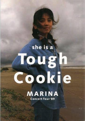 <<パンフレット(ライブ)>> パンフ)MARINA Concert Tour'89 she is a Tough Cookie