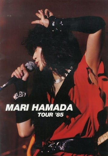 <<パンフレット(ライブ)>> パンフ)MARI HAMADA TOUR'85