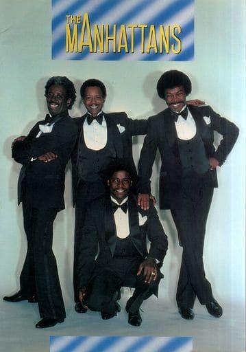 <<パンフレット(ライブ)>> パンフ)THE MANHATTANS CONCERT IN JAPAN 1982