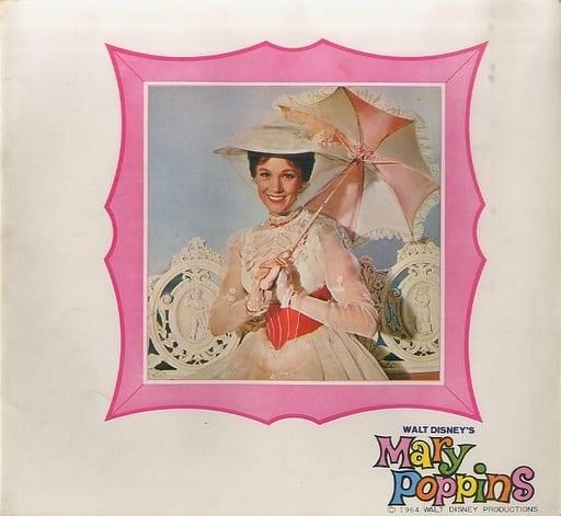 <<パンフレット(洋画)>> パンフ)メリー・ポピンズ(1965年版)