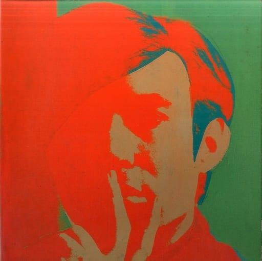 <<パンフレット(図録)>> パンフ)アンディ・ウォーホル展 1991
