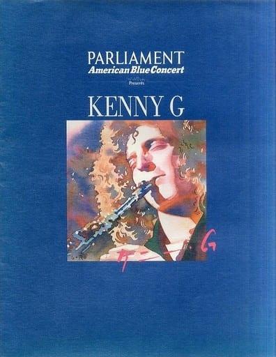 <<パンフレット(ライブ)>> パンフ)ケニー・G JAPAN TOUR 1991