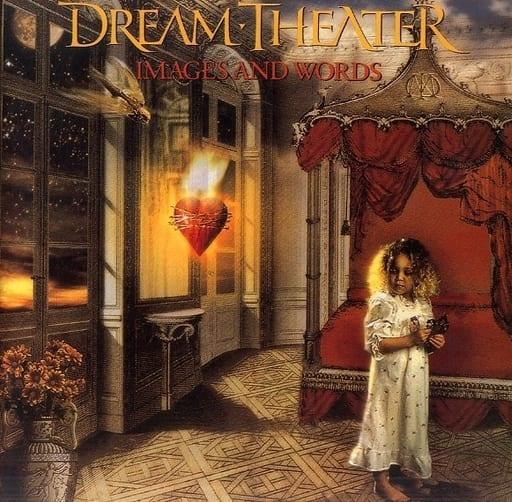 <<パンフレット(ライブ)>> パンフ)DREAM THEATER IMAGESAND WORDS JAPAN TOUR 1993