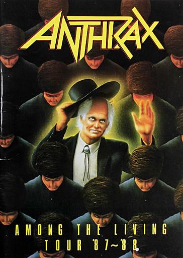 <<パンフレット(ライブ)>> パンフ)ANTHIRAX AMONG THE LIVEING TOUR '87~'88