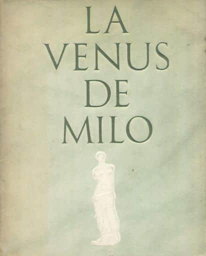<<パンフレット(図録)>> パンフ)LA VENUS DE MILO ミロのビーナス特別公開