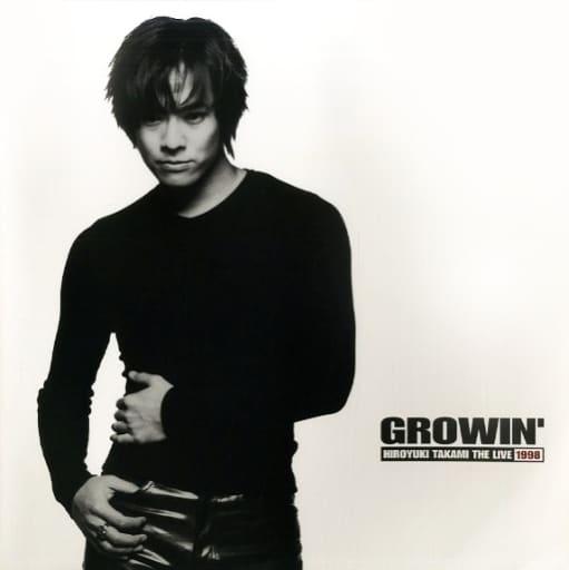 <<パンフレット(ライブ)>> ランクB)パンフ)GROWIN HIROYUKI TAKAMI THE LIVE 1998