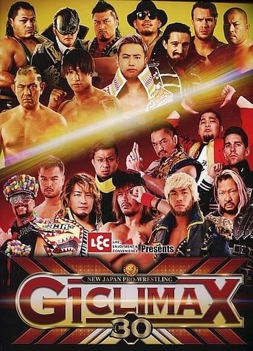 <<パンフレット(スポーツ)>> パンフ)NEW JAPAN PRO-WRESTLING G1 CLIMAX 30