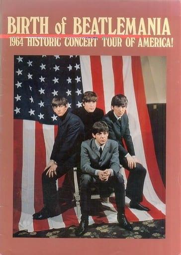 <<パンフレット(ライブ)>> ランクB)付録付)パンフ)BIRTH of BEATLEMANIA 1964 HISTRIC CONCERT TOUR OF AMERICA!