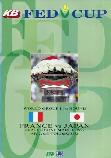 <<パンフレット(スポーツ)>> パンフ)KD FED CUP FRANCE VS JAPAN WORLD GROUP 1 1st ROUND