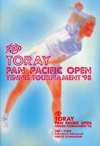 <<パンフレット(スポーツ)>> パンフ)TORAY PAN PACIFIC TENNIS TOURNAMENT'98