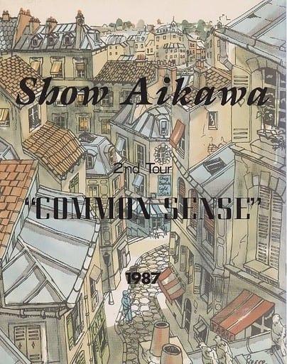 <<パンフレット(ライブ)>> パンフ)Show Aikawa 2nd Tour COMMON SENSE 1987
