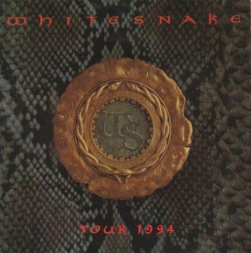 <<パンフレット(ライブ)>> パンフ)White Snake TOUR 1994