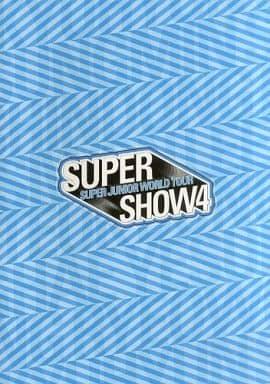 <<パンフレット(ライブ)>> パンフ)SUPER JUNIOR WORLD TOUR SUPER SHOW4