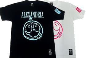 アレキサンドリア(ミートくん)(ブラック・ホワイト)